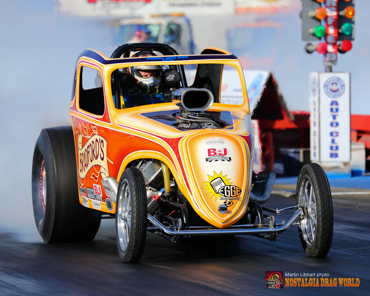 NOSTALGIA DRAG WORLD - The Rise of the Altereds by Mike Sopko Jr